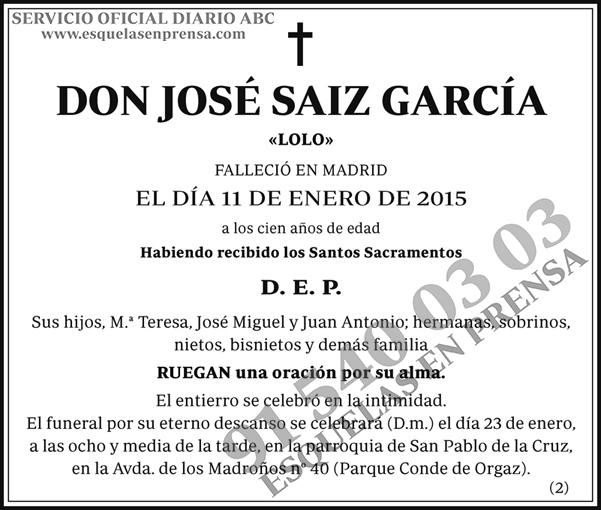 José Saiz García